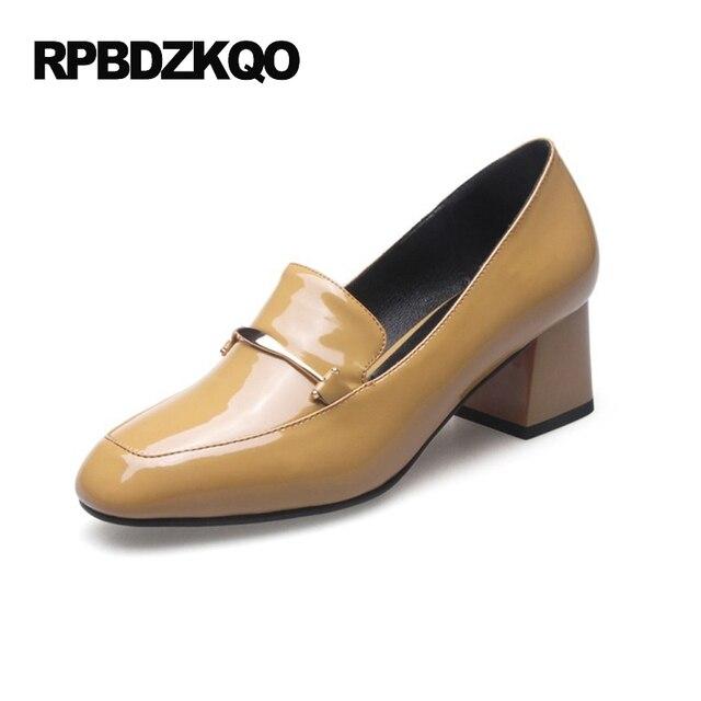 MEI&S Chaussures Femmes Sandales Talon Bas,38,Jaune