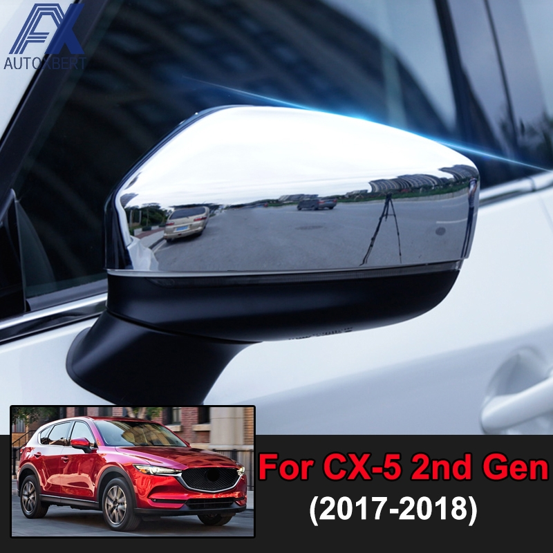 Car Body Side Overlay Molding Cover Trim Fit Mazda CX-3 CX3 2016 2017 Chrome
