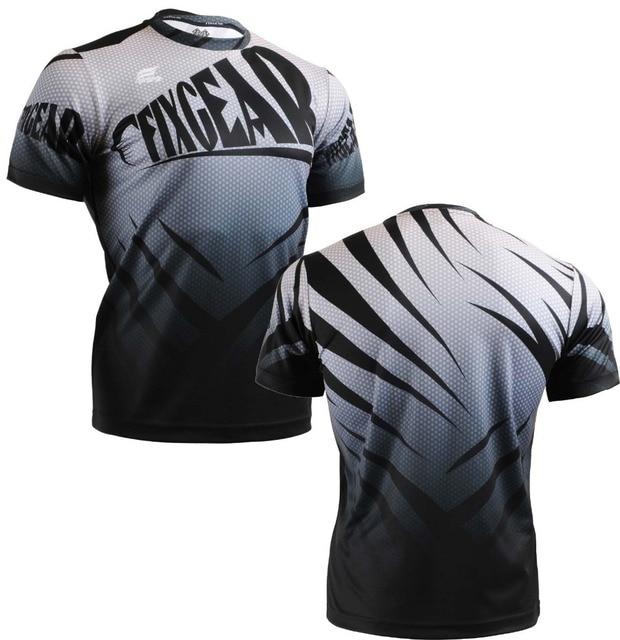 {No. RM-5702} FIXGEAR Tennis Golf T-Shirts Custom Design Printing Men's Sports Tee Crew Neck Short Casual T-shirts S~XXXL