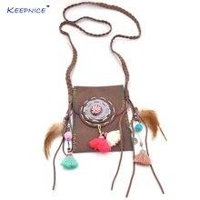 Женское Ожерелье collares длинное ожерелье ручной работы с перьями