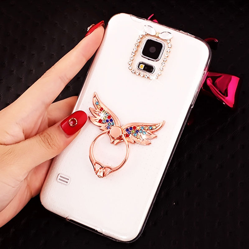 For Nokia 8 7 Plus 6 2018 5 Phone Case Luxury Glitter Diamond Stand TPU Clear Soft Silicone Cover For Nokia 3.1 5.1 6.1 Plus 7.1 image