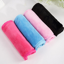 40*17cm Reusable Microfiber Facial Cloth Face Towel Natural Antibacterial Protection Makeup Remover Cleansing Beauty Wash Tools