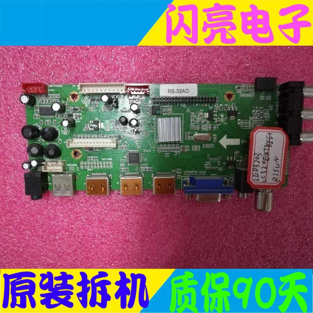 Audio & Video Replacement Parts Accessories & Parts Main Board Power Board Circuit Logic Board Constant Current Board Led 3203 Motherboard Rs-32ad 2pe5359-2 Screen Hv320wxc-201 A Complete Range Of Specifications