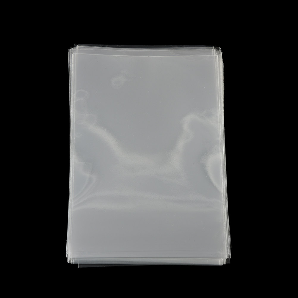 100Pcs Clear Flat Open Top Plastic Bags Sweets Cookie Candy Lollipop Packaging Bags Wedding Birthday Party Gift Bag 11 5X8cm in Gift Bags Wrapping Supplies from Home Garden