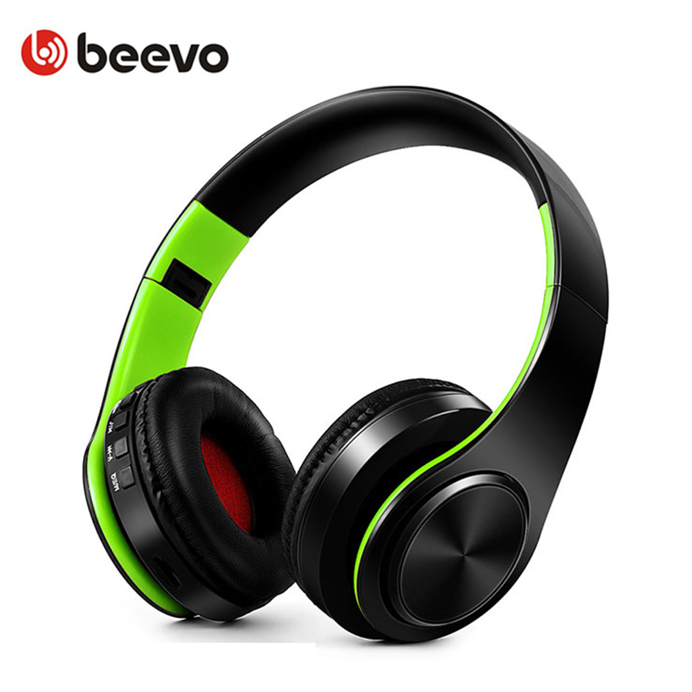 Hot Sale Portable Folding Wireless Bluetooth Headphones With Mic Splicing Color Sports Headset Support TF Card Handsfree Calls 20w bluetooth4 1 speaker wireless hifi portable feature fashionable appearance design and high 5000mah support tf card with mic