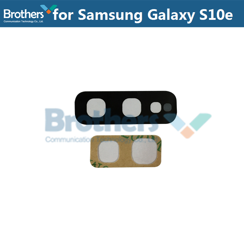 1 комплект для samsung Galaxy S10e S10 S10 Plus задняя камера объектив камера Стекло для samsung S10 Plus HD крышка ремонт телефона Замена