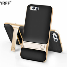 YRFF High quality Classic 2-in-1 case cover For Xiaomi Mi 6 kickstand case For Xiaomi 6 Mi6 Stand holder transparent Phone case