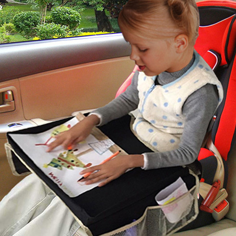 new fashion children kids newborn car child safety seats tourism tray strollers toys tray drawing board