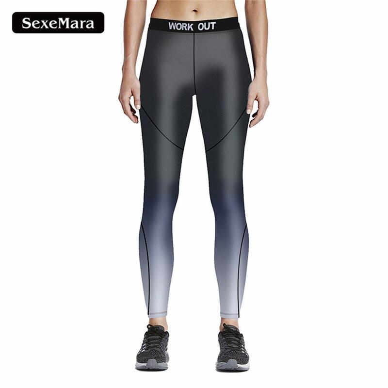 2017 Neue Legging Multicolor Hohe Taille Elastische Leggings 3d Druck Frauen Arbeit Heraus Hosen Ropa Mujer Plus Größe S-4xl Jy33019