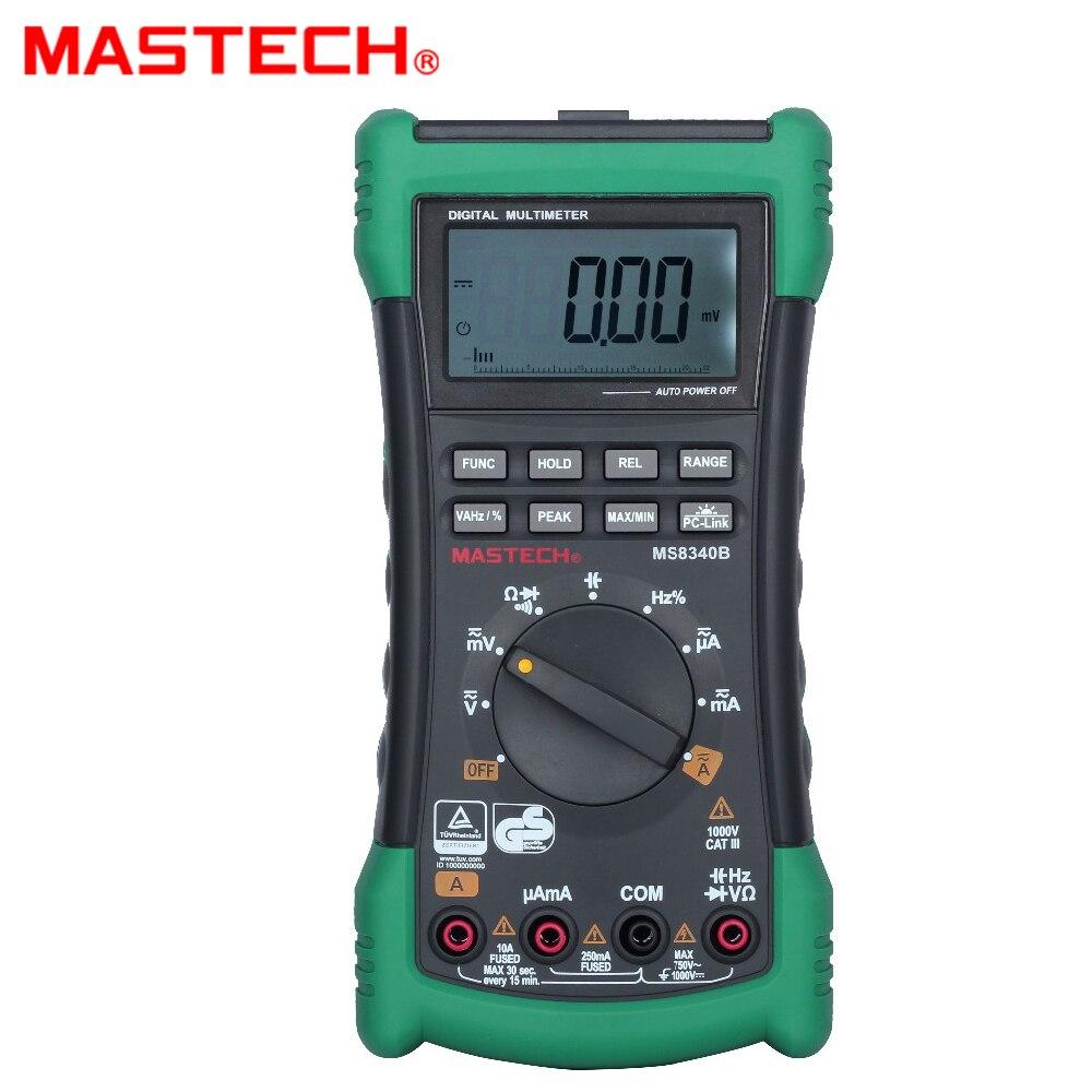 MASTECH MS8340B (MS8240D abandonnées) précision smart handheld multimètre numérique
