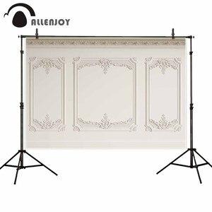 Image 2 - Allenjoy Professionelle Fotografie Hintergrund Einfarbig Klassische Innenwand Leisten Carving Muster Hintergrund Photobooth