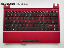 US English FOR ASUS EPC X101H X101CH X101 With red TOP Topcase Cover keyboard