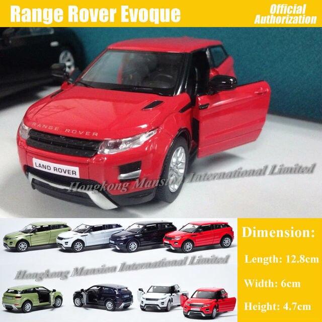 ec54cb81b466c 1 36 Escala Diecast Liga de Metal Modelo de Carro Para Range Rover Evoque  Model