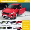 1:36 Escala Diecast Metal de Aleación Modelo de Coche Para Range Rover Evoque colección Modelo Tire Volver Juguetes de Coches-Rojo/Blanco/Negro/Verde