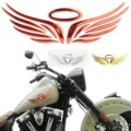Angel Hawk Wings Car Motorcycle Sticker 1pc 3D Angel Wing Auto Car Motorcycle Sticker Windows Decal Emblem Label Badge 3 Colors