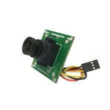 цена на COMS 1000TVL HD 3.6mm Wide Lens PCB Mainboard CCTV Security camera PAL / NTSC for RC Quadcopter