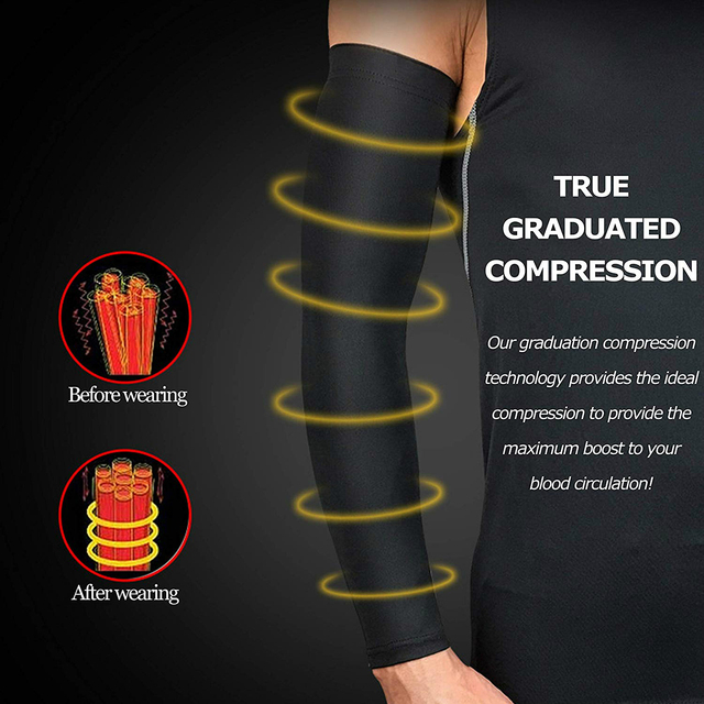 WorthWhile Sports Arm Compression Sleeve Basketball Cycling Arm Warmer Summer Running UV Protection Volleyball Sunscreen Bands 3