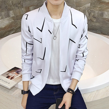 2016 autumn new sweater male Korean fashion casual jacket collar jacket tide thin section teenagers