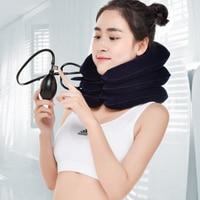 U Neck Pillow Air Inflatable Pillow Cervical Brace Neck Shoulder Pain Relax Support Massager Pillow Air