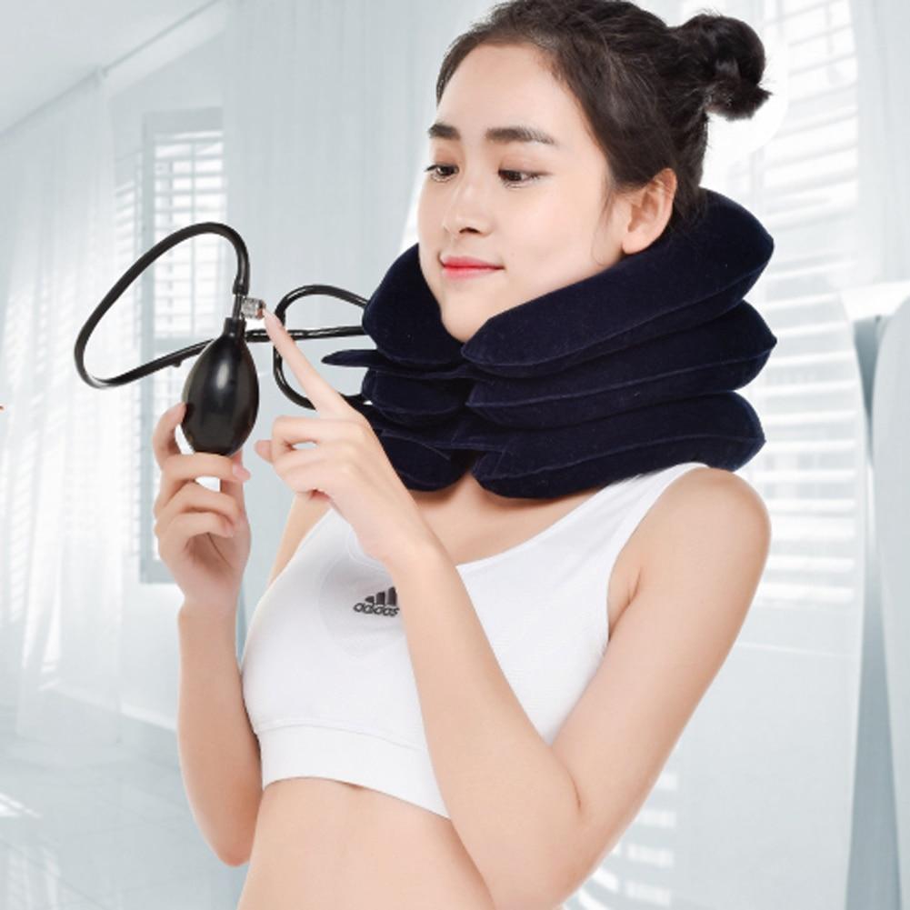 U Neck Pillow Air Надувная подушка Шейная - Домашний текстиль