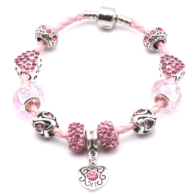 2015 New European charms jewelry wholesale fit Pandora bracelet for Women