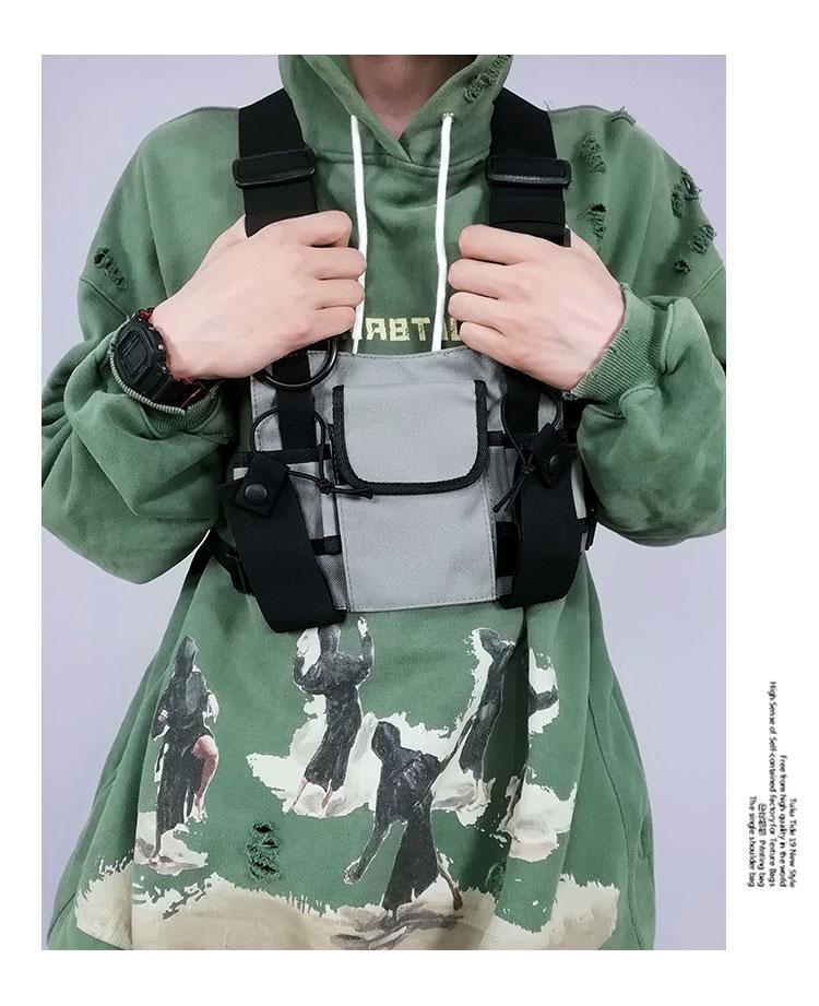 Men's Tactical Shoulder Chest Rig Bag 16