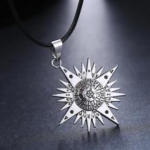 MOSU Hot Anime D.Gray-man Silver Metal Necklace Allen Logo Pendant Cosplay Accessories Jewelry can Drop-shipping
