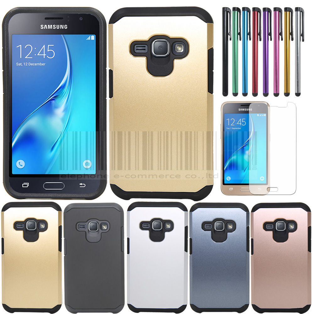 best service 180c9 418a7 Phone Case For Samsung Galaxy Express 3 TPU+PC Shockproof Silm Armor Hard  Protecive Back Case Cover With Film+Stylus-in Fitted Cases from Cellphones  & ...