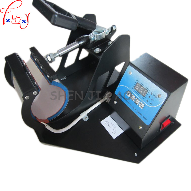 1 Set Portable Digital Mug Heat Press Machine Cup Heat Press DIY Creative Tool 220V 110V digital heat transfer baking cup machine single display quaff