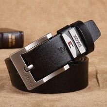 New 2017 Genuine Leather Men Belt Luxury Designer Belt For Men High Quality Metal Buckle Jeans Belt men Cowskin Casual Belts