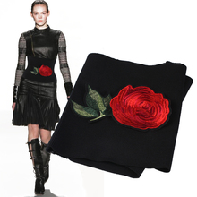 No waist buckle body embroidery ultra wide character wears a waist belt sealing tightness of Chinese national wind accessories