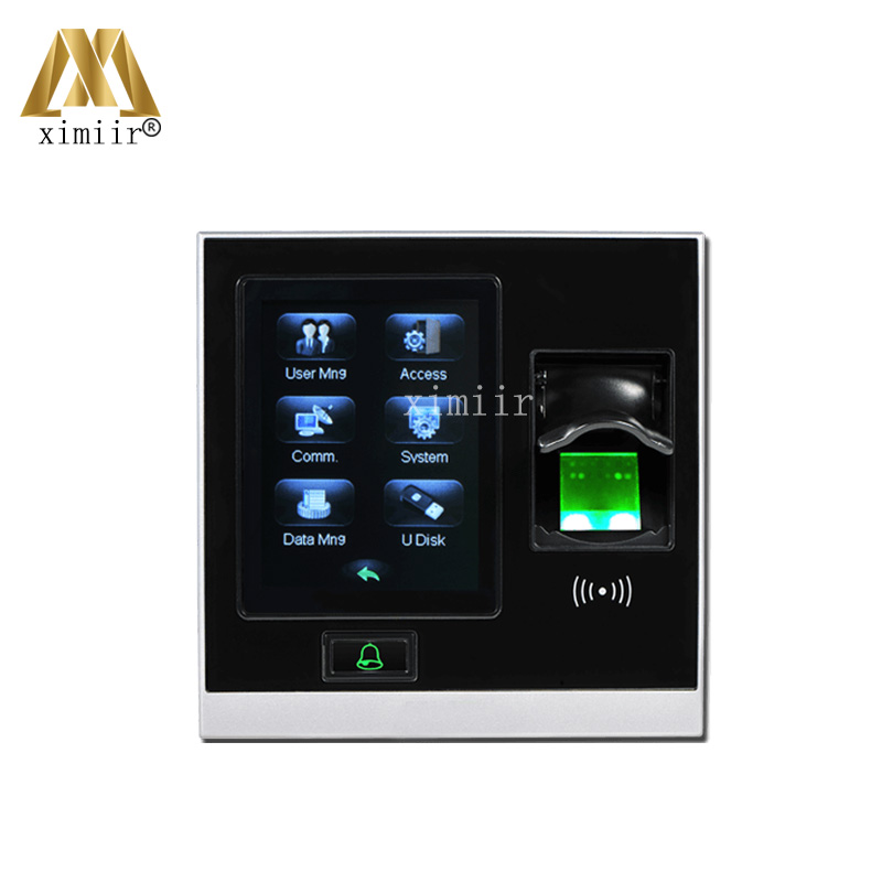 все цены на New Arrival ZK SF400 Biometric Fingerprint Time Attendance And Access Control With TCP/IP USB Door Access Control System