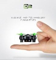 Gratis Verzending Originele DHD D2 RC POCKET Drone Met HD Camer 4CH 6-Axis RC helicopter RTF 360 Flips vliegtuigen gift voor kids