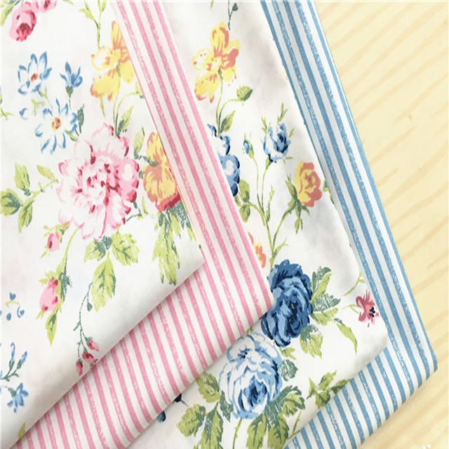Aliexpress.com : Buy 50x40cm Graceful Pink Blue Spring Flowers ...