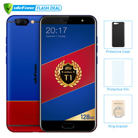 Ulefone T1 Premium Edition 6GB+128GB 5.5 FHD Helio P25 Octa Core Mobile Phone Android 7.0 Fingerprint 4G Global version