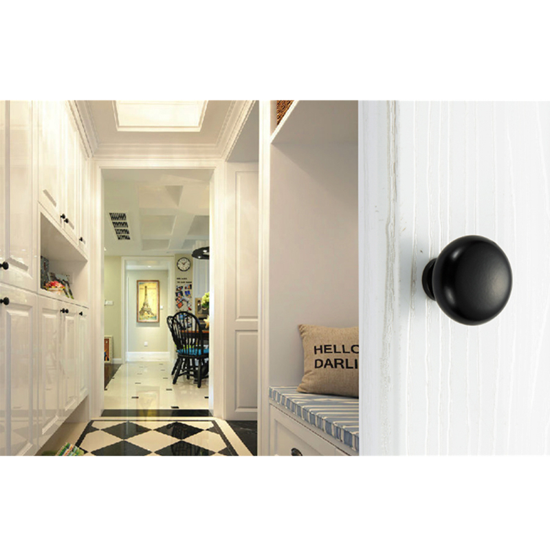 KAK 5pcs/lot American Style Black Handles Cabinet Drawer knobs Handles Black Wardrobe Door handles 96mm 128mm Furniture Hardware