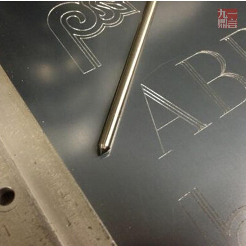 10 pz / lotto Fresa per incisione a punta incisore dremel 3 mm e - Accessori per elettroutensili - Fotografia 4