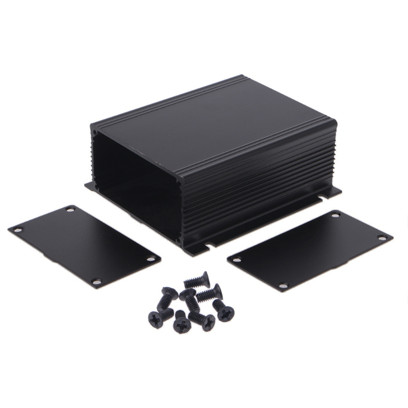 1PC DIY Aluminum Case Electronic Project PCB Instrument Box 100x88x39mm Dec28  -Y122 e cap aluminum 16v 22 2200uf electrolytic capacitors pack for diy project white 9 x 10 pcs
