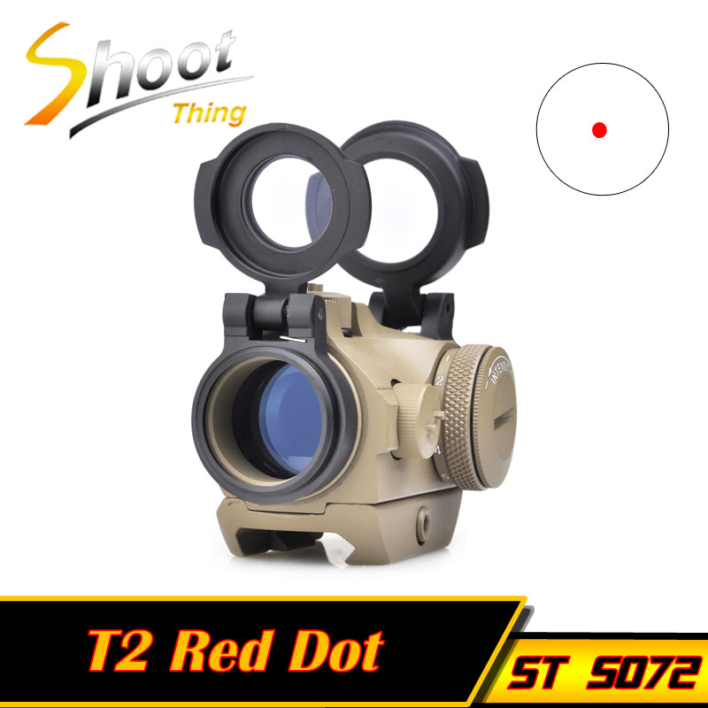 ST5072 Z-TAC Tactical Riflescopes 20mm Low Mount Micro 1x24 Red Dot Sight Scopes Optics For Hunting Tactical Sight target micro 1x24 red dot with qd riser mount cnc low mount