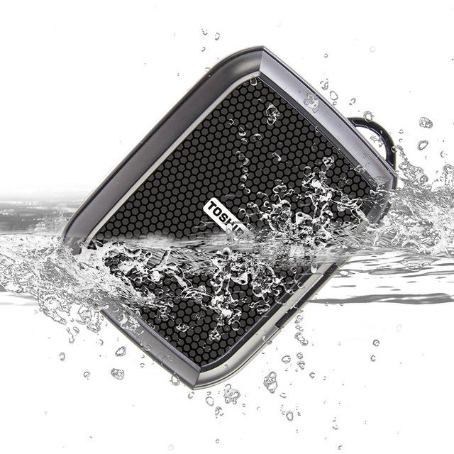 2017 moda pacote de disco rígido móvel à prova de poeira à prova d' água anti-queda para 2.5 polegada toshiba a2 a8 magro rígido externo disco