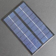 Hot alta qualidade 9 v 3 w 330ma policristalino do painel solar célula solar diy carregador de bateria solar/solar pequena sistema de energia de 125*195mm