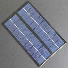 Hot High Quality 9V 3W 330mA Solar Cell Polycrystalline Solar Panel DIY Solar Battery Charger/Small Solar Power System 125*195MM