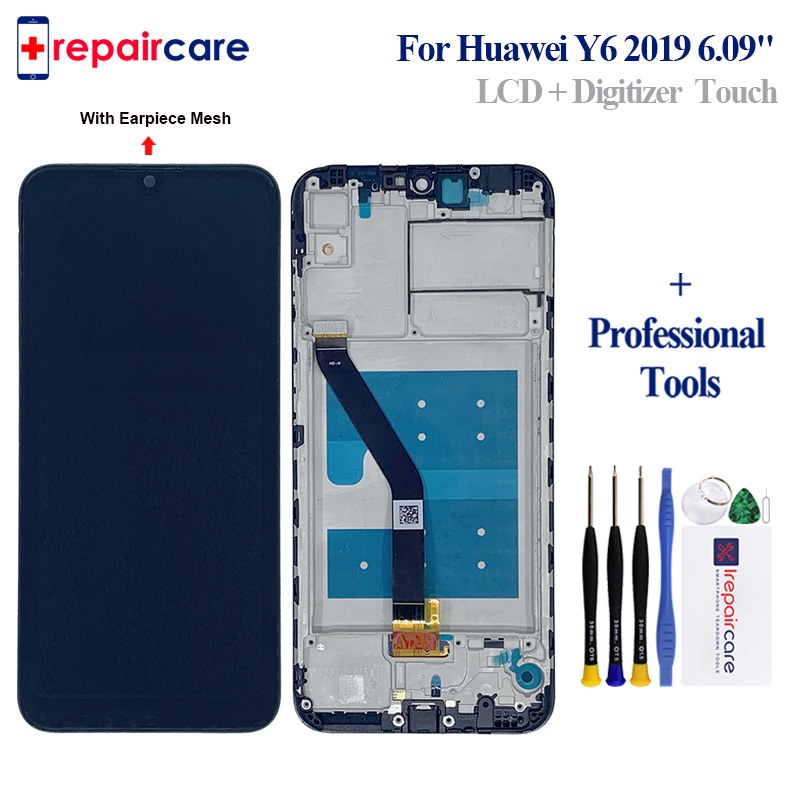 6 09 LCD With Frame For Huawei Y6 Prime 2019 Y6 Pro 2019 Y6 2019 LCD