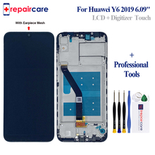 6.09 LCD With Frame For Huawei Y6 Prime 2019 Pro Display Touch Screen Digitizer Assembly Replace