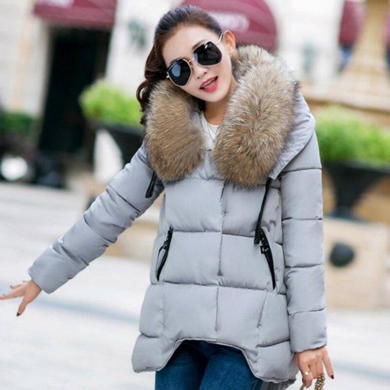 ФОТО New Fashion Winter Women Padded Jacket Female Slim Long Down Cotton Wadded Coat Women Hoodies Parkas Plus Size Down & Parkas