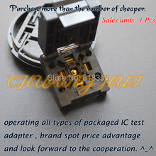 QFN48 TEST SOCKET WSON48 DFN48 MLF48 IC  6x6mm Pitch=0.4mm