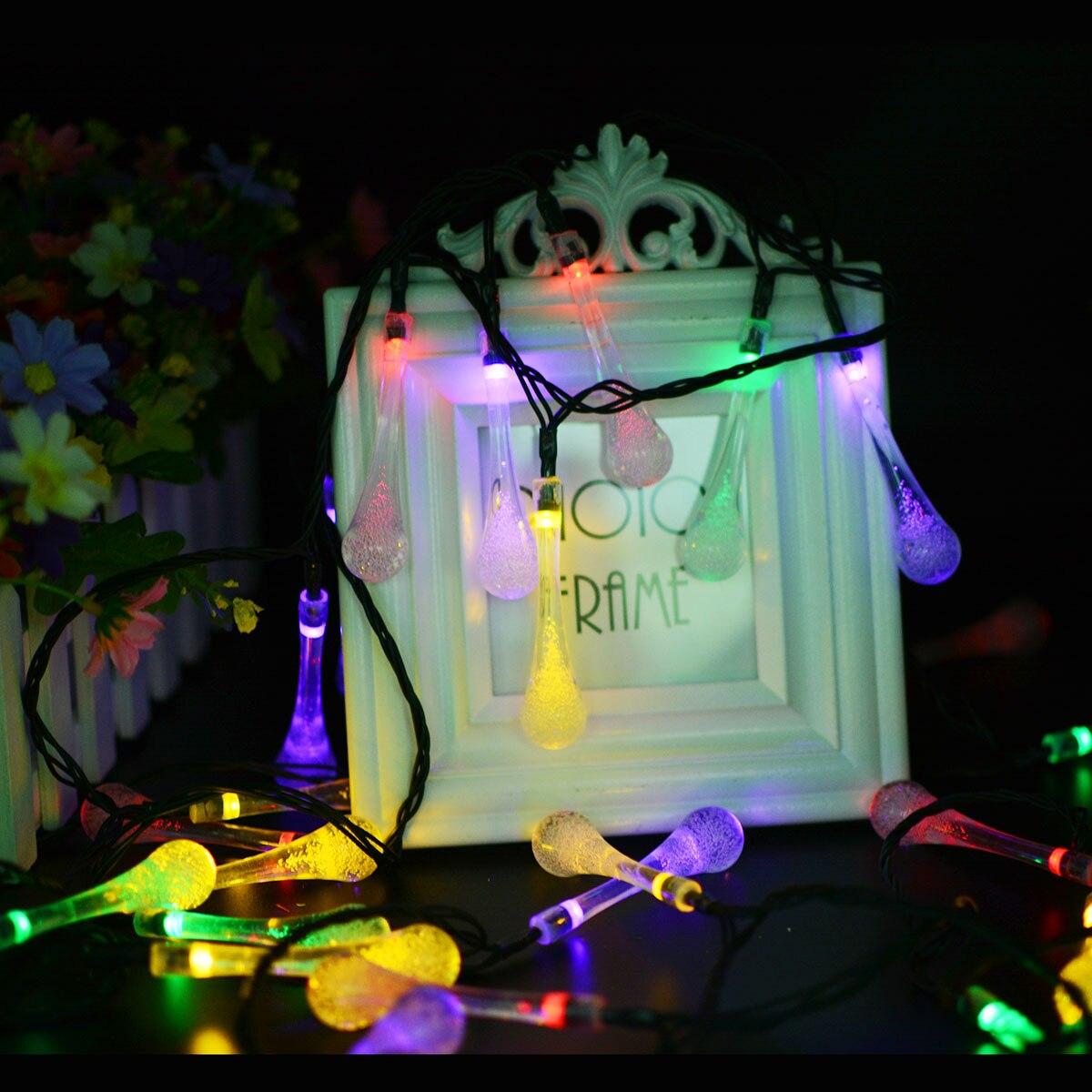 fiesta impermeable, luces hadas 18