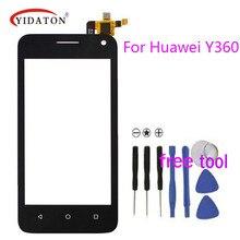 Smartphone Écran Tactile Digitizer Pour Huawei Y3 Y360 Y336 Y360-CL00/U03/U23/U31 LCD Tactile en verre panneau noir/Blanc