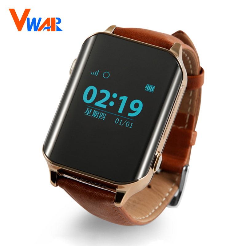Vwar D100 SmartWatch GPS Tracker Smart GPS Watch Locator For Elder locating Heart Rate Monitor Wristwatch Support SIM Card A16 new kid gps smart watch wristwatch sos call location device tracker for kids safe anti lost monitor q60 child watchphone gift