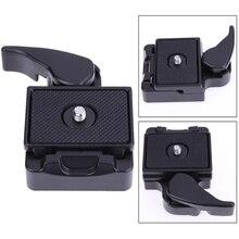 Универсальный Quick Release Plate SLR DSLR Объектив Камеры Штатив Зажим Пластины Адаптер Штатива Моноподы Для Винта Крепления Штатива